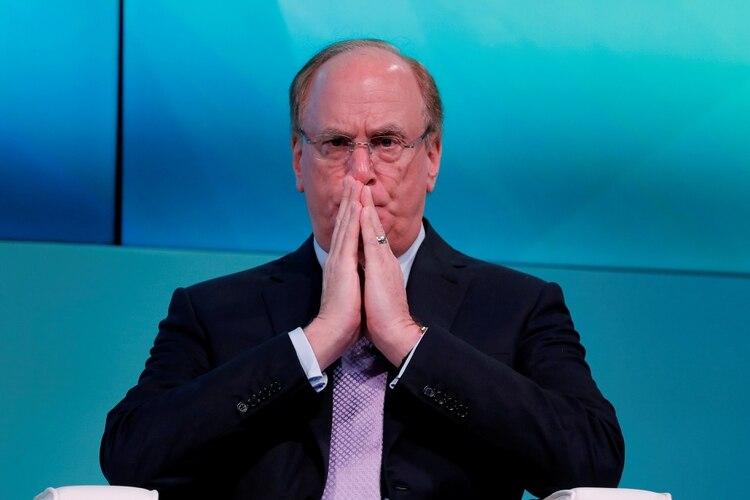 Larry Fink, CEO de BlackRock, uno de los principales acreedores privados de la Argentina