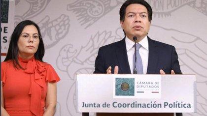 El grupo parlamentario de Morena aseguró que aseguró que la decisión no representa la opinión de la mayoría parlamentaria en la Cámara de Diputados(Foto: Twitter @mario_delgado)
