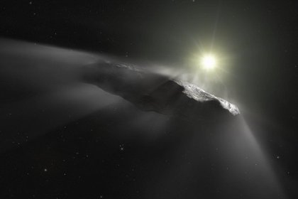 Los objetos interestelares vienen de otros sistemas solares ajenos al nuestro (Foto: M. Kornmesser/European Southern Observatory)