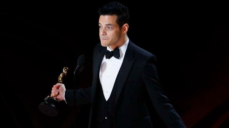 "Rami Malek fue premiado por su labor en ""Bohemian Rhapsody"" (REUTERS/Mike Blake)"