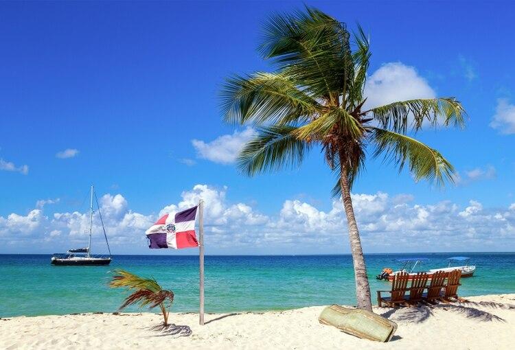 Un playa en Punta Cana, principal polo turístico del país (Shutterstock)