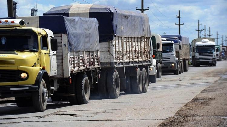El camión que utilizó para ingresar a San Luis pertenece a una empresa de su familia (@MunicipalidadDeVillaMercedes)