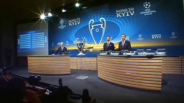 [ Internacional ] Se armaron las parejitas en los Octavos de la Champions