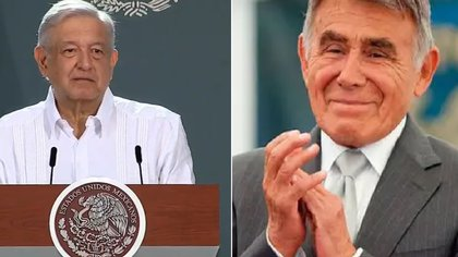López Obrador elogió a Héctor Suárez (Captura de pantalla)