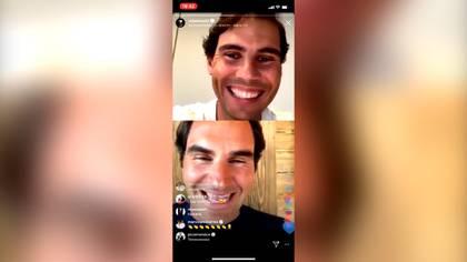 Nadal y Federer protagonizaron una de las entrevistas más virales de los últimos tiempos