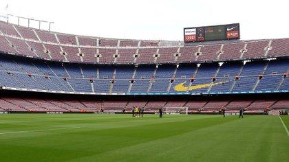 Messi volvér a jugar en un Camp Nou vacío por culpa de la pandemia de coronavirus
