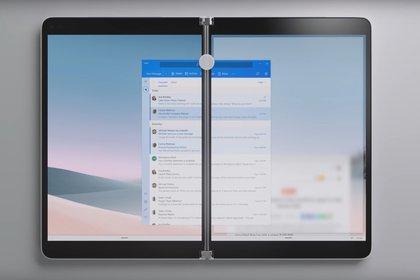 Surface Neo es un dispositivo de dos pantallas que puede funcionar como una laptop o tablet de dos pantallas