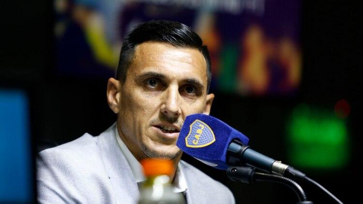 Nicolás Burdisso, director deportivo de Boca Juniors (Foto: Nicolás Aboaf)