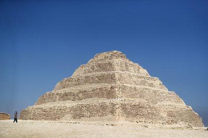 La Pirámide de Sakkara se ve en Giza, Egipto, el 3 de octubre de 2020. REUTERS/Mohamed Abd El Ghany
