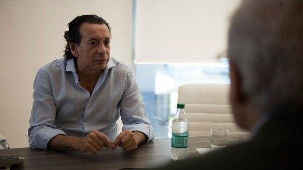 Archivo: Dante Sica en su consultora, en una entrevista con Infobae (Foto: Adrián Escandar)