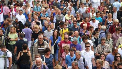 El número de habitantes del planeta pasará de los 7.700 millones a 9.700 millones en 2050. Una cifra que seguirá en aumento hasta los 11.000 millones de 2100 Foto: (Archivo)