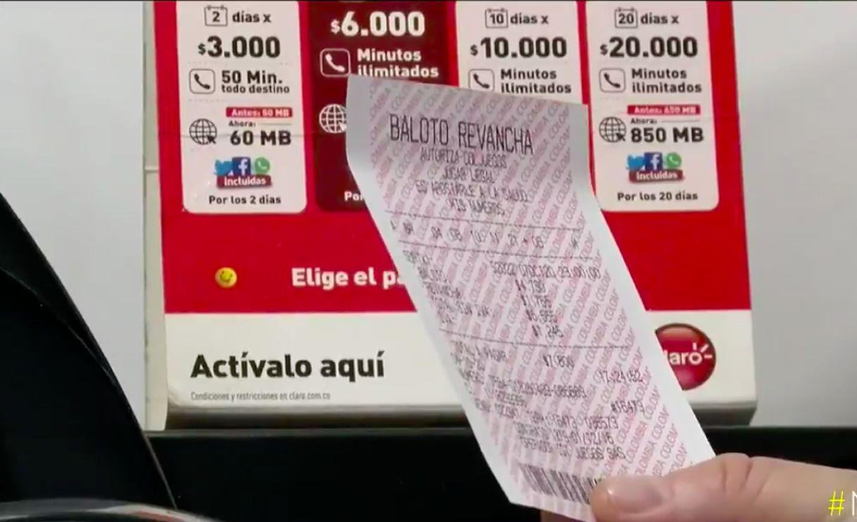Baloto, la lotería más popular de Colombia, cayó en la ciudad de Cali con más de 56.000 millones de pesos. / Noticias Caracol