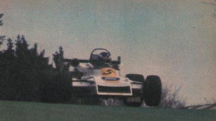 Joyita: en el aire con el March de F-2 Europea en Nurburgring en 1979