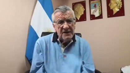 José Luis Gioja, presidente del PJ nacional