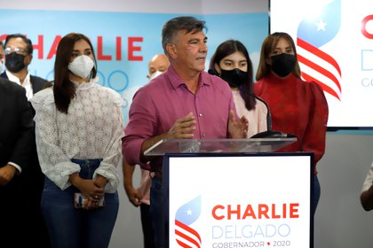 """El candidato a la gobernación de Puerto Rico por el Partido Popular Democrático, Carlos """"Charlie"""" Delgado. EFE/Thais Llorca/Archivo"""