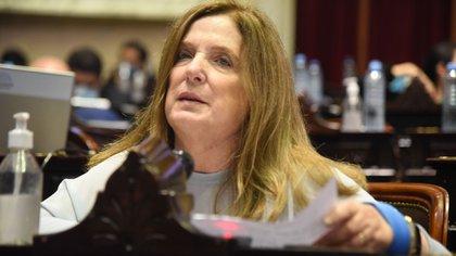 Carmen Polledo, vicepresidenta de la comisión de Salud, presentó un dictamen de rechazo a la IVE (Prensa Diputados)