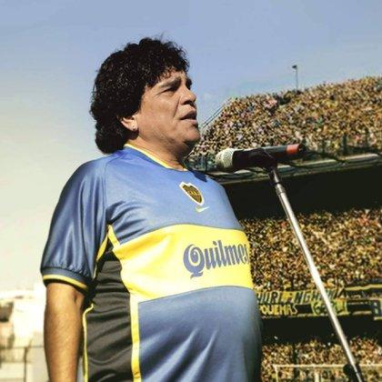 Juan Palomino, en la piel de Maradona (@primevideolat)