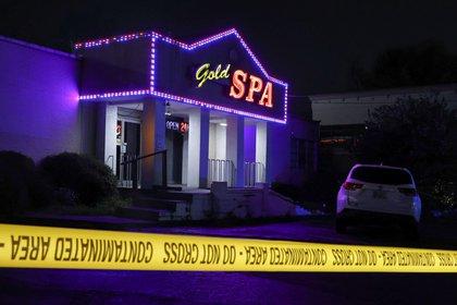 Gold Spa, uno de los centros de masajes atacados (REUTERS/Chris Aluka Berry)