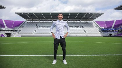 Jonathan Suarez se preparaba para jugar en el Orlando City de la MLS en Estados Unidos (Foto: Instagram@johnnny.10)