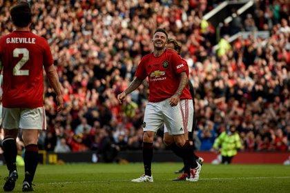 Ambos cosecharon 12 títulos en el United, incluída la Champions League de 1999 (Shutterstock)