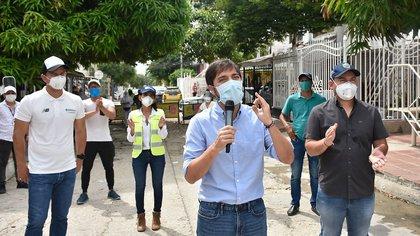 Las conclusiones de Jaime Pumarejo, alcalde de Barranquilla, tras reunirse con Duque