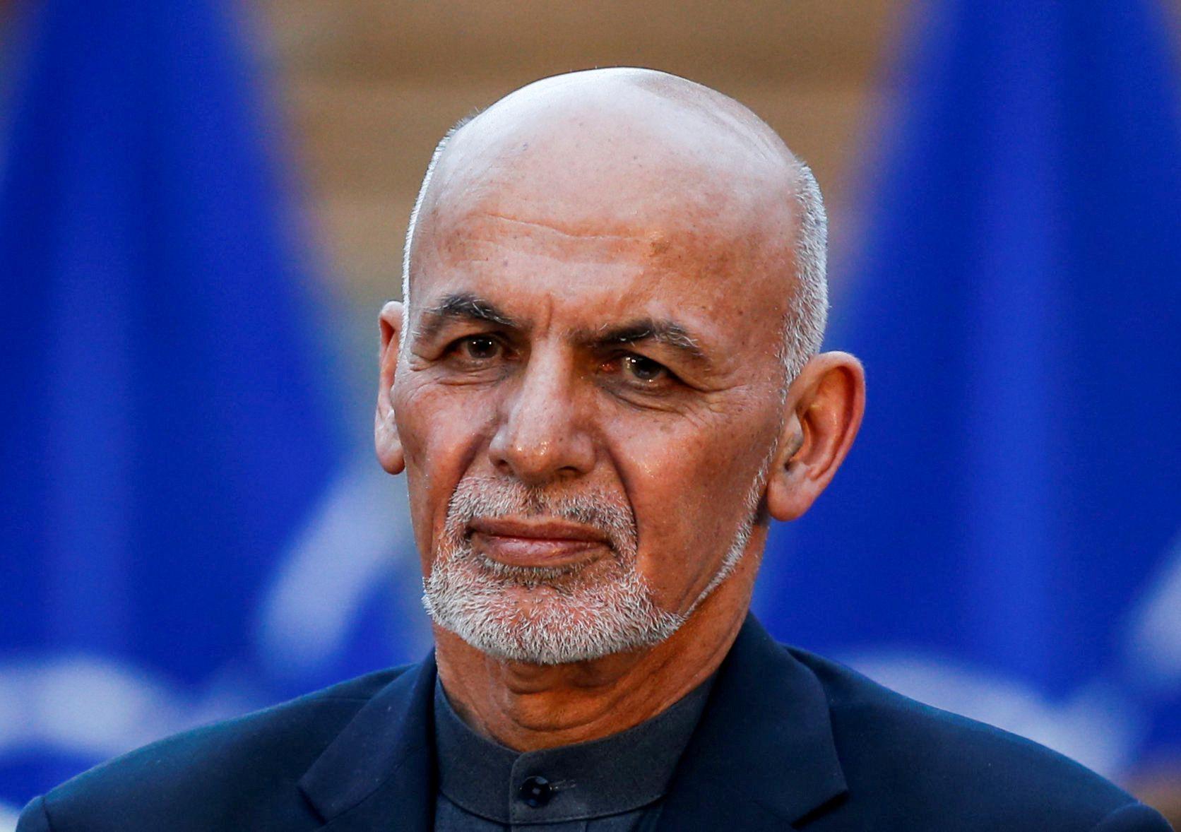 El presidente de Afganistán Ashraf Ghani REUTERS/Mohammad Ismail/File Photo
