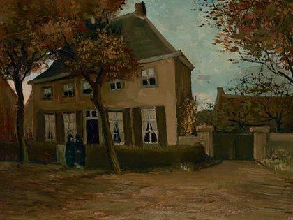"""""""El hogar en Nuenen"""" (1885), que evoca los años de las hermanas, se halla en el Museo Van Gogh de Ámsterdam. (Vincent van Gogh Foundation)"""