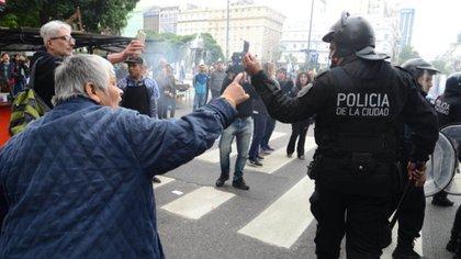El operativo policía impidió que haya más desmanes