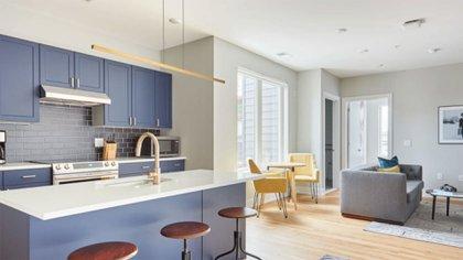 Un ejemplo de los apartamentos que ofrece Sonder en EEUU