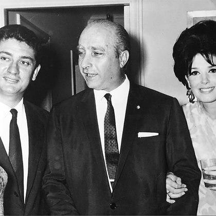 Bordeu, Fangio y Graciela Borges (IG: borgesgra13).