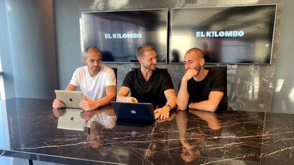 Edgar Anzola, Gabriel Gagliardoni y Javier Rios, amigos, socios y las caras ocultas detrás de El Kilombo