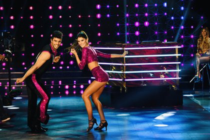 La pareja obtuvo 18 puntos en total por la performance (LaFlia)