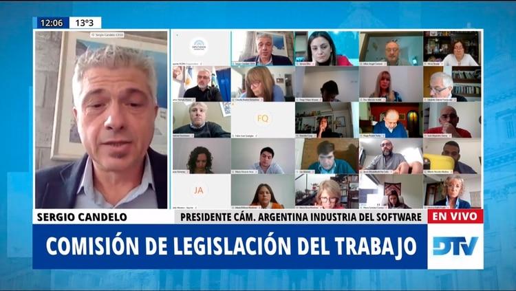 Sergio Candelo, de la Cámara Argentina de la Industria del Software (CESSI)