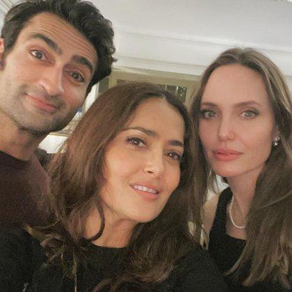 La veracruzana considera que formó un lazo de amistad con Angelina Jolie y el actor pakistaní Kumail Nanjiani