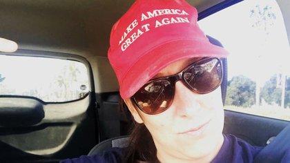 La veterana la Fuerza Aérea Ashli Babbitt tenía 35 años y era una ferviente seguidora del presidente Donald Trump