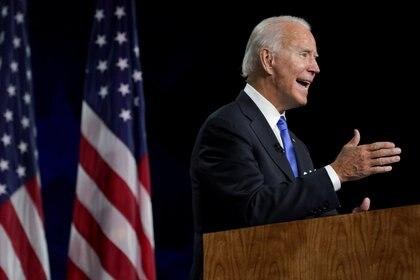 El candidato demócrata Joe Biden (REUTERS/Kevin Lamarque/archivo)