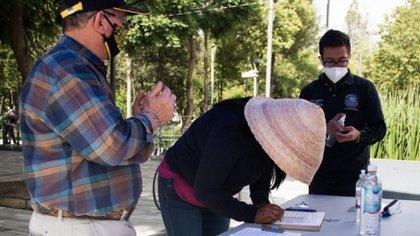 Los aspirantes tienen un tiempo de unos dos meses para completar los apoyos y firmas necesarios para su candidatura (Foto: Cuartoscuro)