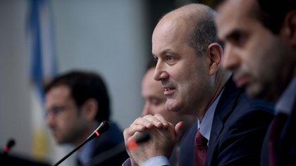 El presidente del Banco Central Federico Sturzenegger