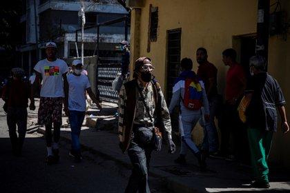 """Venezuela inició ayer una semana de """"cuarentena radical"""" en el marco de un plan que el Gobierno de Nicolás Maduro denomina """"7+7"""", y que combina períodos de restricciones con otros de flexibilización de las medidas. EFE/ Rayner Peña/Archivo"""