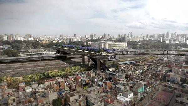 Edificio puente del BID
