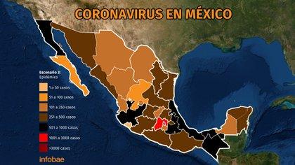 Coronavirus en México al 30 de mayo Gráfica: Jovani Pérez/Infobae México