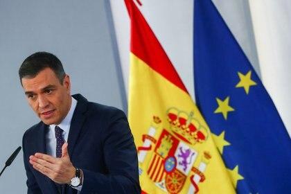 El presidente Pedro Sánchez se metió de lleno en la campaña por las elecciones en Madrid (REUTERS/Sergio Pérez)
