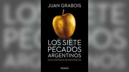 "Portada de ""Los siete pecados argentinos"", editado por Paidós"