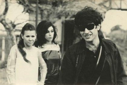 """Oscar Masotta durante """"El helicoptero"""", 1967 (Cloe Masotta y Susana Lijtmaer)"""