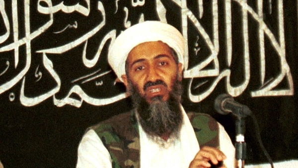 Osama bin Laden, líder de Al Qaeda y cerebro de los atentados a las Torres Gemelas en 2001 (AP)