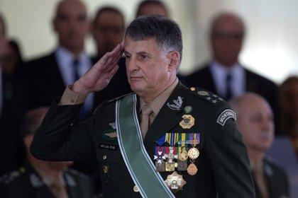El ex comandante del Ejército de Brasil, el general Edson Leal Pujol (EFE/Jo�dson Alves/Archivo)