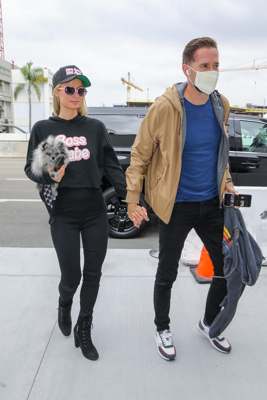 Paris Hilton y Carter