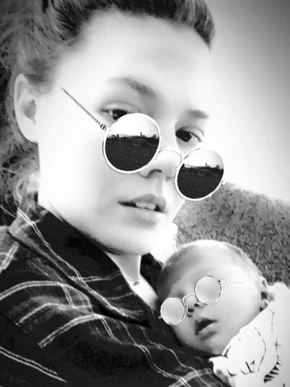 Joy dio a conocer esta nueva imagen de la bebé (Instagram: joynadamas)