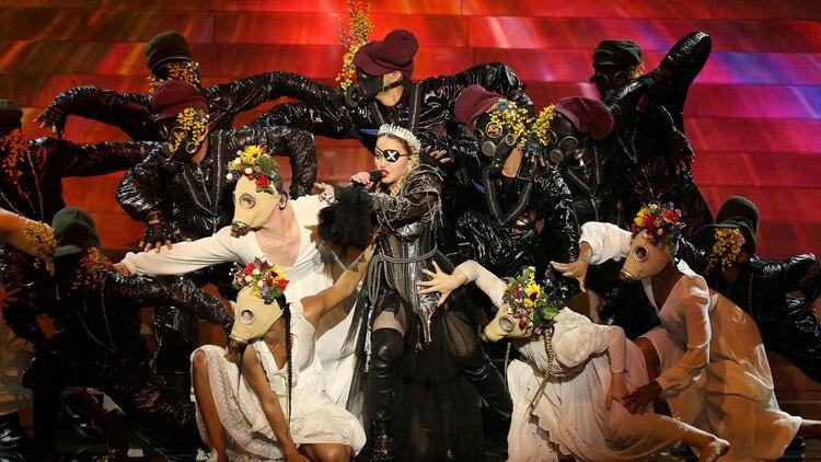 "Madonna >> álbum ""Madame X"" [II] - Página 4 2019-05-19T011144Z_1369608252_RC1AE0B32AC0_RTRMADP_3_MUSIC-EUROVISION-MADONNA"