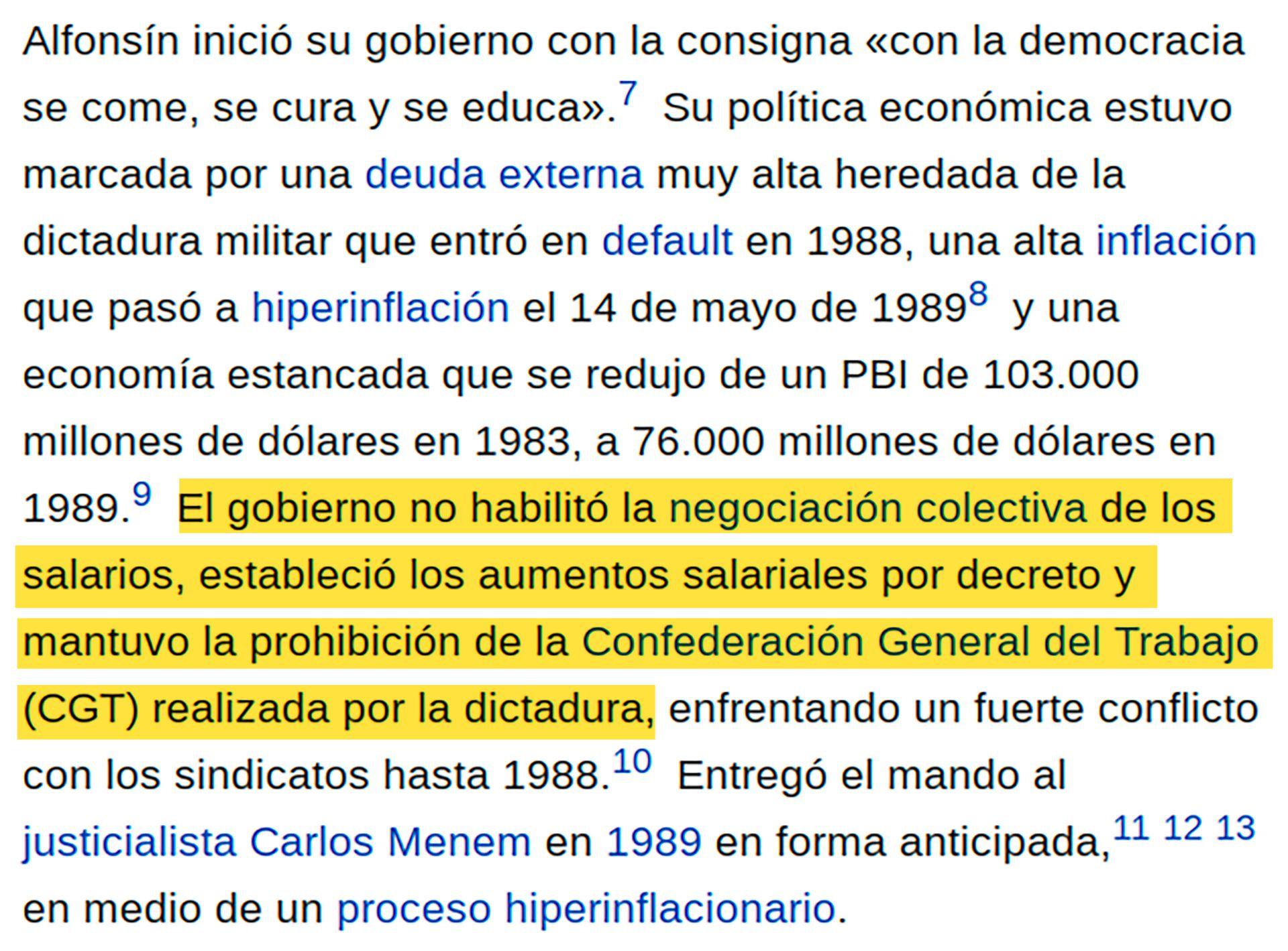 Resaltados Wikipedia - Alfonsín